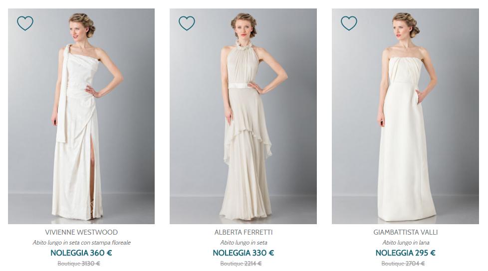 Abiti da sposa Noleggia il tuo abito online su Drexcode - Abito da sposa a noleggio su Drexcode