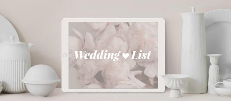 Lista Nozze LOVEThESIGN