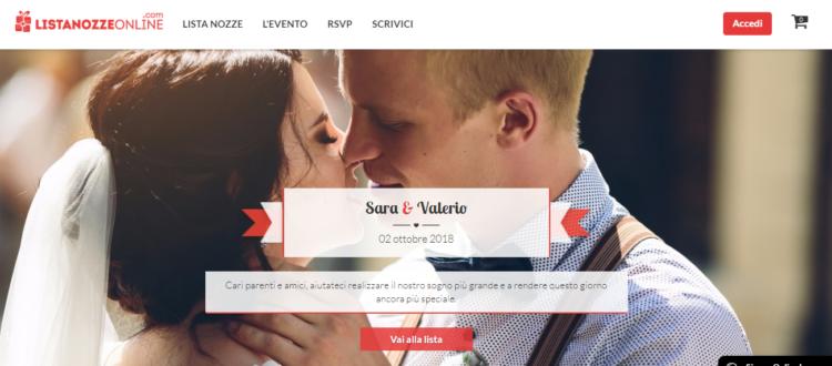 Lista Nozze Online Un matrimonio perfetto