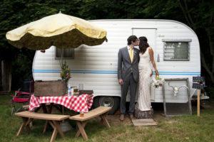 camper wedding