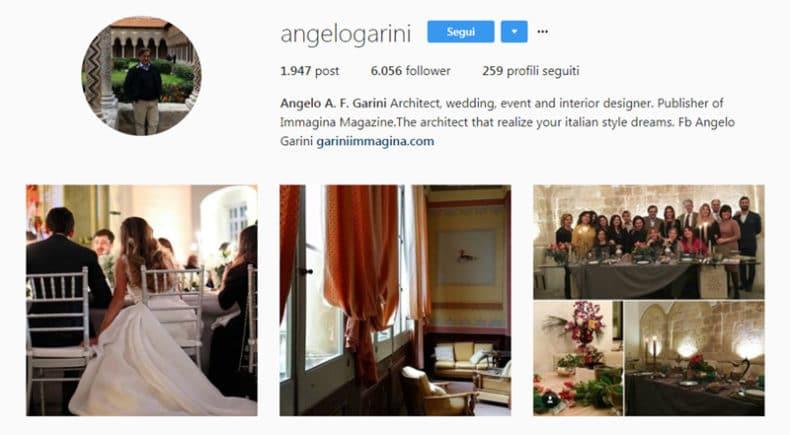 angelo garini instagram