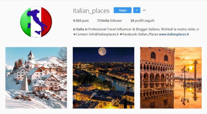 Italian places