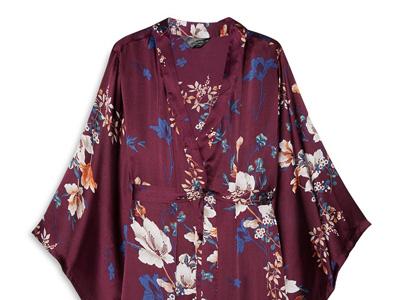Kimono in raso a fiori - 20 curiosità per il matrimonio scovate su Primark