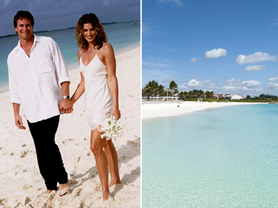 Cindy Crawford e Rande Gerber – Bahamas - Luna di miele VIP: prendi spunto dalle celebrità!