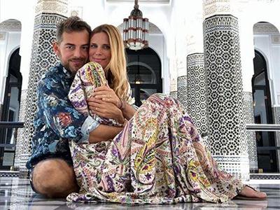 Daniele Bossari e Filippa Lagerbäck Marocco - Luna di miele VIP: prendi spunto dalle celebrità!