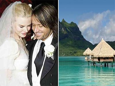 Nicole Kidman e Keith Urban – Bora Bora Polinesia Francese - Luna di miele VIP: prendi spunto dalle celebrità!