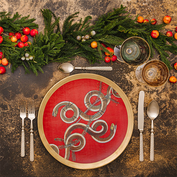 natale 2019 tavola 1 Giorgia Fantin Borghi  - I trend per allestire la tavola di Natale 2019