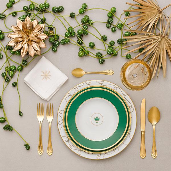 natale 2019 tavola 4 Giorgia Fantin Borghi  - I trend per allestire la tavola di Natale 2019