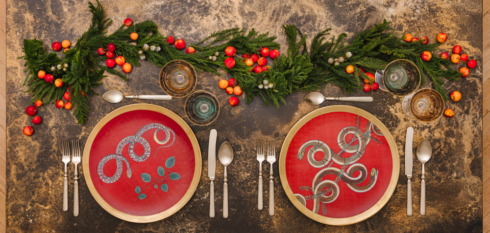I trend per allestire la tavola di Natale 2019