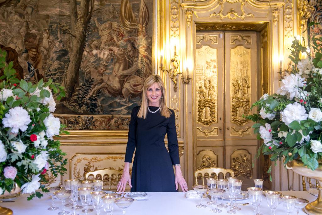 tavola reale palazzo clerici fotografo devid rotasperti 122 1024x683 - I trend per allestire la tavola di Natale 2019