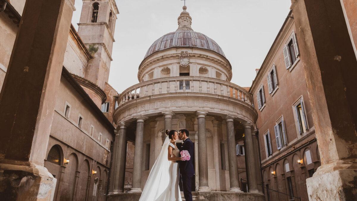 San Pietro in Montorio: una delle migliori chiese di Roma per il Matrimonio